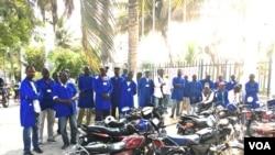 Trabalhadores da Xadu em greve