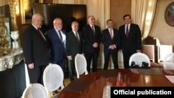 Azərbaycan və Ermənistan xarici işlər nazirləri Minsk Qrupunun həmsədrlərinin iştirakı ilə Parisdə görüşüb
