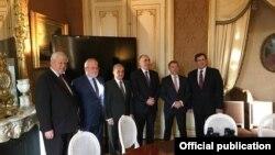 Azərbaycan və Ermənistan xarici işlər nazirləri Minsk Qrupunun həmsədrlərinin iştirakı ilə 2019-cu il yanvarın 16-da Parisdə görüşüb