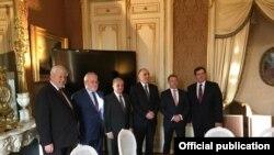 Azərbaycan və Ermənistan xarici işlər nazirləri Minsk Qrupunun həmsədrlərinin iştirakı ilə görüşüb
