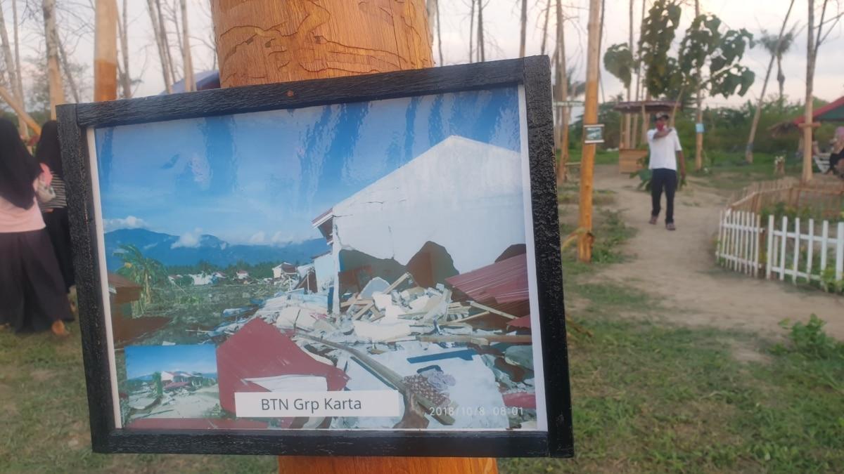 Lahan Bekas Likuefaksi Di Sulteng Diubah Jadi Taman Wisata