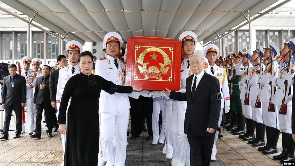 Đám tang Trần Đại Quang.