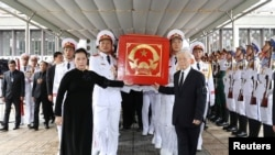 Đám tang ông Trần Đại Quang.