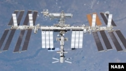 FILE - International Space Station (undated photo)