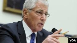 Američki sekretar za odbranu Čak Hejgel svedoči u Kongresu