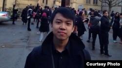 Arya Bhaswara, mahasiswa Indonesia di Manchester, Inggris (dok: Arya Bhaswara)