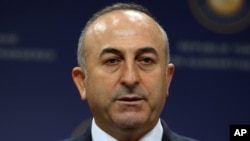 Menlu Turki Mevlut Cavusoglu (Foto: dok).