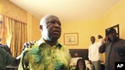 科特迪瓦前總統巴博(資料圖片)