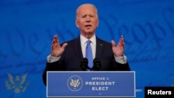 Presiden terpilih AS, Joe Biden