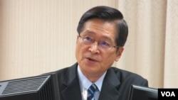 台灣國防部長嚴德發。