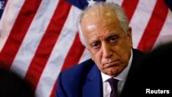 美国阿富汗和解问题特使扎勒迈·哈利勒扎德