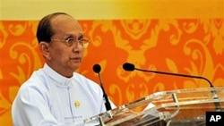 테인 셰인 버마 대통령 (자료사진)