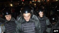 Протестные акции в Москве по результатам выборов