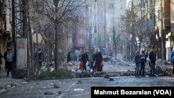 Çatışmaların Ardından Diyarbakır Sur Mahallesi