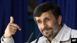 아마디네자드 이란 대통령 (자료사진)