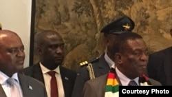 Mutungamiri wenyika VaEmmerson Mnangagwa.