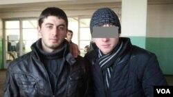 ამირან ბორჩაშვილი (მარცხნივ)