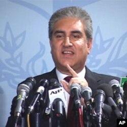 پاکستانی وزیر خارجہ شاہ محمود قریشی