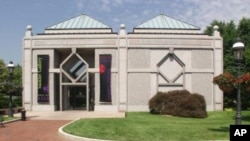 Smithsonian Sackler Gallery, located in Washington DC.