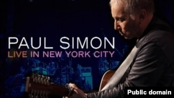 "Paul Simon's ""Live In New York City"" album cover"