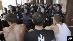 Киев, Украина. 5 июля 2012 г.