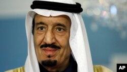 沙特阿拉伯新国王萨勒曼,资料照。