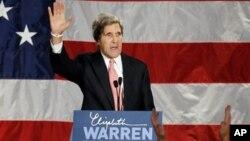 馬薩諸塞州參議員克里﹐目前是美國國務卿熱門人選
