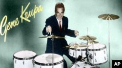 Drummer Man Gene Krupa, prva bubnjarska zvijezda