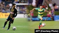 ادام نجم و دیوید نجم دو بازیکن افغان تبار امریکایی اند که در لیگ های فوتبال ایالات متحده بازی می کنند و قرار است در ترکیب تیم ملی افغانستان در برابر فلسطین قرار گیرند.
