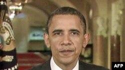 奥巴马总统周六发表每周例行广播讲话