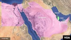 Mısır, Suudi Arabistan, Bahreyn ve Birleşik Arap Emirlikleri, terörle mücadelede yetersiz kaldığı gerekçesiyle Katar'a ambargo uyguluyor.