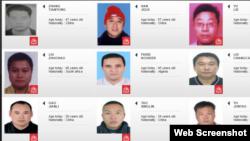 「百名紅通人員」從國際刑警組織網站上消失