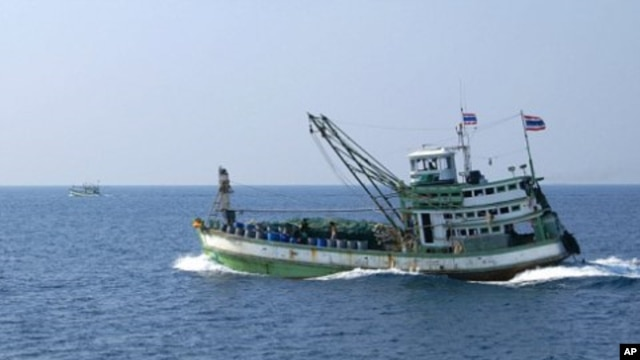 Thai fishing boat (file photo)