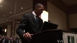 President Obama Look-Alike Performs at Washington Events