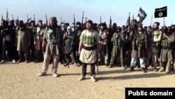 عکسی از یکی از تجمع های نیروهای داعش