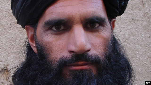 FILE - Asmatullah Shaheen Bhittani, the head of the supreme shura in the Waziristan tribal area near the Afghan border, June 2012.