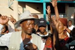 Bushmen celebrate following victory in court in January