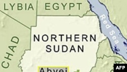 Bản đồ 2 nước Sudan và Nam Sudan