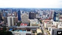 Mji wa Nairobi, Kenya