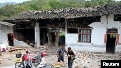 Powerful Earthquake Hits China