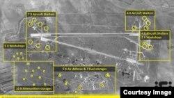 ایالات متحده به تاریخ ۷ اپریل ۲۰۱۷، مجموعاً ۵۹ میزایل بر میدان هوایی الشعیرات سوریه، پرتاب کرد