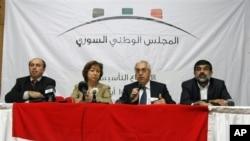 Para pemimpin Dewan Nasional Suriah (SNC) menolak rencana PBB soal transisi politik di Suriah yang disepakati di Jenewa oleh negara-negara kuat dunia.