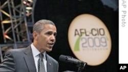 奥巴马寻求劳工支持其经济和医保政策