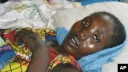Seorang penderita kolera di Afrika (foto: ilustrasi). Wabah kolera di Mali utara telah menewaskan 12 orang sejak awal bulan lalu.