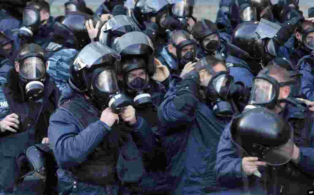Ուկրաինայի քաղաքներում շարունակվում են եվրաինտեգրման ջատագովների բողոքի ցույցերը