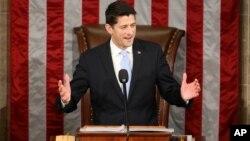 Paul Ryan hari Kamis (29/10) dipilih sebagai ketua baru DPR Amerika menggantikan John Boehner (foto: dok).