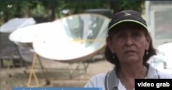 Fatima Montealegre (Foto: Videograb/kevin Enoch report)