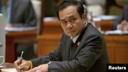 FILE - Thailand's Prime Minister Prayuth Chan-ocha.