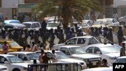 Студентські антиурядові демонстрації у Хартумі