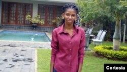 Júlia Fara, oficial de programas da Associação Kugarissica na Beira, Moçambique